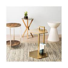 Target End Tables by Berwyn End Table Metal And Wood Rustic Brown Threshold U0026 153 Ebay