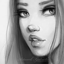 drawings no face face drawing the full