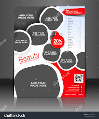 vector beauty salon brochure flyer magazine cover poster save to a