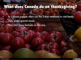 thanksgiving in canada by pedraza
