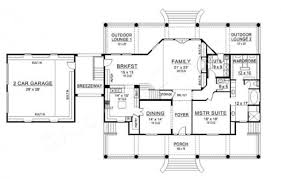 Lounge Floor Plan Williamsburg Country Floor Plan Southern House Plan