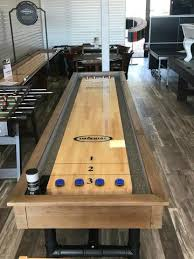 imperial bedford 12 shuffleboard table imperial bedford 12 shuffleboard table in desert chestnut