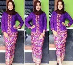 download gambar model baju kurung modern dalam ukuran asli di atas ッ 25 model baju batik pramugari berjilbab lengan panjang cantik