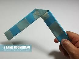 How Do You Make A Paper Boomerang - diy paper boomerang how to make a simple boomerang for