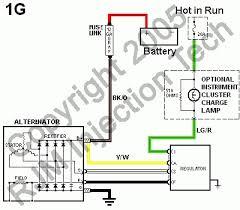 pajero alternator wiring diagram wiring diagram and schematic