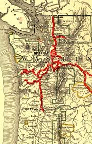 Map Washington File Northern Pacific Railway Map Circa 1900 Western Washington