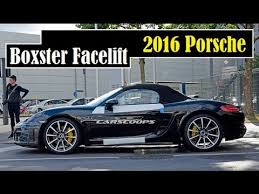 porsche boxster facelift 2016 porsche boxster facelift rumors may unveil as early as