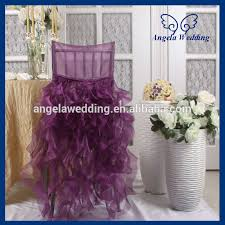 fancy chair covers ch007e gorgeous 2015 wholesale fancy popular frilly curly willow