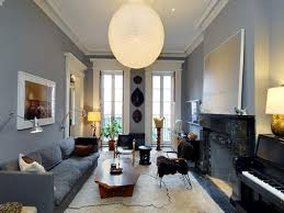 Pendant Lights For Living Room by Light Grey Leather Sofa Living Room Ideas Centerfieldbar Com