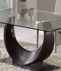 dining table in wenge by global w optional taupe chairs