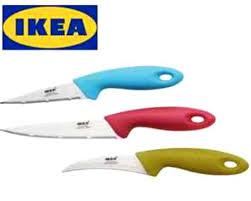 Ikea Kitchen Knives Ikea Slipad 3 Piece Stainless Steel Knife Set Home U0026 Kitchen