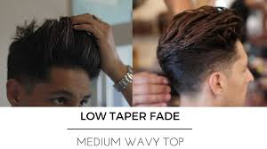 low tapered haircuts for men the best low taper high volume fade men s hair trends 2017 youtube