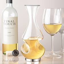 Modern Wine Glasses by Twist Decanter Modern Glass Carafe Uncommongoods