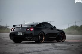 nissan gtr matte black attack 5 nissan gt r miami power wheels mht wheels inc