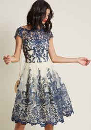 lace dress chi chi london exquisite elegance lace dress in navy modcloth