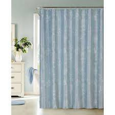 Teal Colored Shower Curtains Floral Shower Curtains Shower Accessories The Home Depot