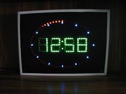 fritzing project u2013 led wall clock
