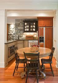 basement renovation with rustic stone walls idesignarch