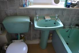 our 1970s blue bathroom is next on our renovation list