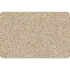 Bungalow Flooring Microfibres Kitchen Rug Bungalow Flooring Dirtstopper Brown And White 20 In X 30 In