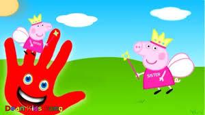 film kartun anak barbie terbaru peppa pig finger family nursery rhymes untuk anak anak new