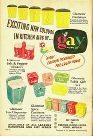 548 best vintage kitchen canister sets images on pinterest