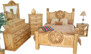real wood bedroom sets king size lone star bedroom set real solid wood cabin lodge