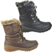 womens boots uk ebay womens caterpillar cat bruiser scrunch leather faux fur ankle