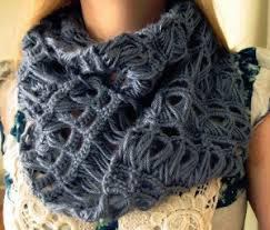 broomstick crochet infinity broomstick lace scarf allfreecrochet