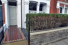 Garden Wall Railings by Front Garden Wall Designs Style Home Design Best To Front Garden
