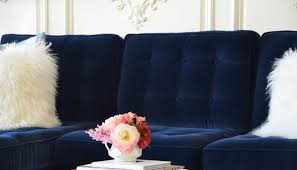 Decorating With A Blue Sofa by Sofa 21 Different Style To Decorate Home With Blue Velvet Sofa