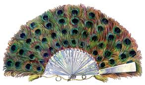 decorative fan extraordinary paper peacock fan the graphics fairy