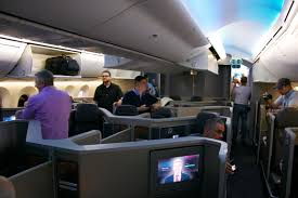 Boeing 787 Dreamliner Interior Best Business Class Seats On American Airlines Boeing 787