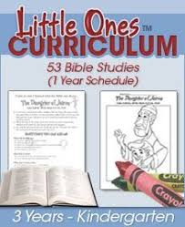 free 13 week one room sunday school curriculum bible lessons for