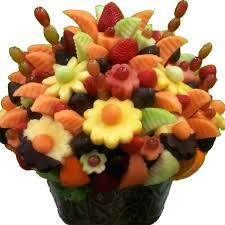 edibles fruit baskets edible flower arrangements edible fruit arrangements in fresh