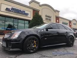 2014 cadillac cts v wagon raleigh cadillac client gets cts v sport wagon audio upgrade