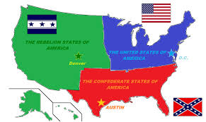 map us states during civil war 2nd us civil war map imaginarymaps slavery and sectionalism