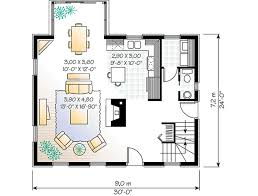 colonial style house plan 2 beds 1 50 baths 1438 sq ft plan 23 2090