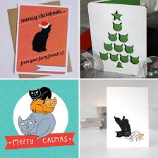 handmade cat cards hauspanther