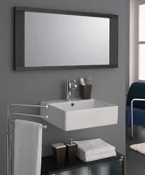 contemporary mirrors for bathroom amazing of modern bathroom