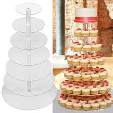 cup cake stands wedding birthday party cupcake stand 7 tier cake display tower ebay