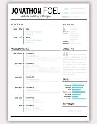 Best Resume Formats 40 Free by Interesting Resume Templates Clean Infographic Resume