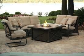 martha stewart patio table patio set with fire pit mindmirror info