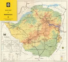 World Map 1975 by Rhodesian Maps Archive Of Rhodesia