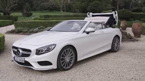 Mercedes C Class Coupe Convertible New Mercedes S Class Cabriolet 2016 S 500 Test Drive Interior