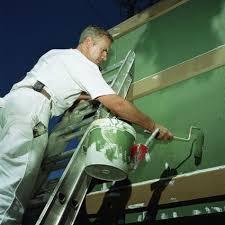 exterior paint satin or flat finish