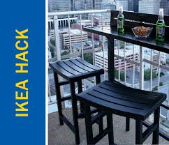 Patio Furniture Ikea by Awesome Ikea Hack Of The Week Skip The Patio Table Make A