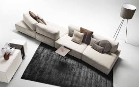 canape modulable cuir canapé modulable contemporain en cuir en simili cuir sanders