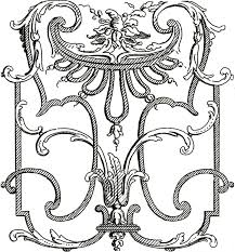 french architectural ornaments beautiful ornament graphics