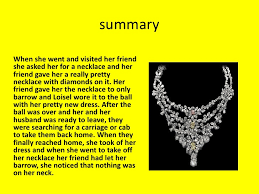 necklace story images 52 the diamond necklace short story story about the necklace from jpg